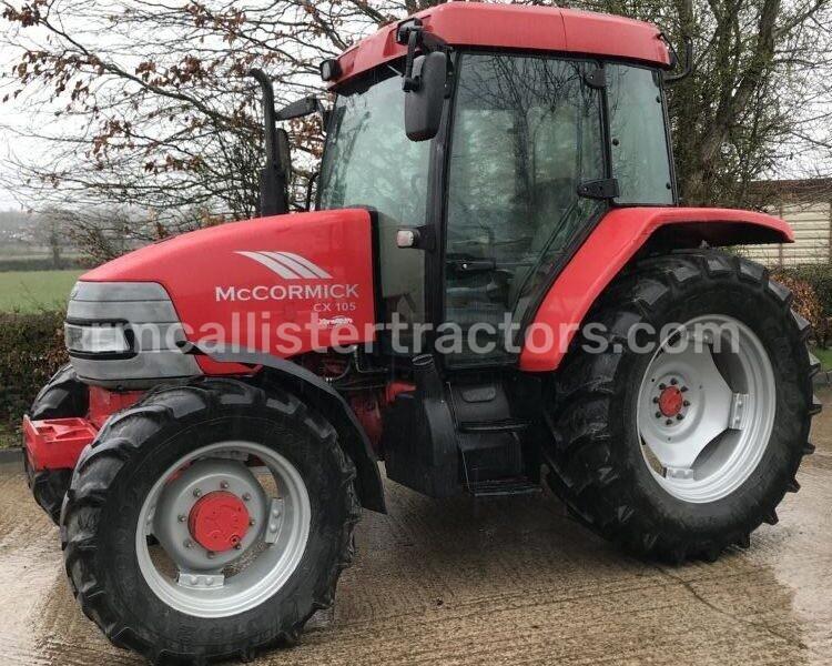 2005 McCormick CX105 Tractor